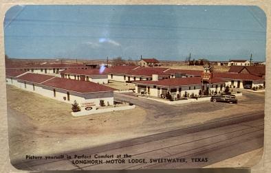 Longhorn Motor Lode, Sweetwater, Texas