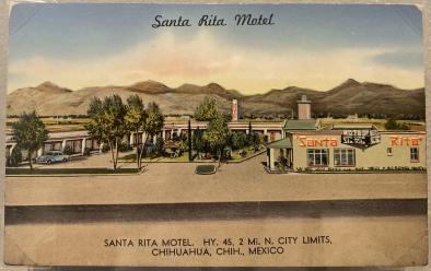 Santa Rita Motel, Chihuahua, Mexico
