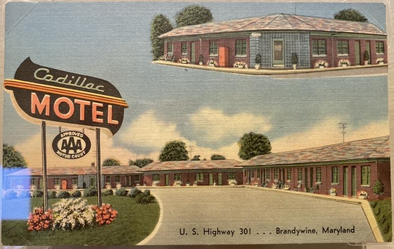 Cadillac Motel, Brandywine, Maryland