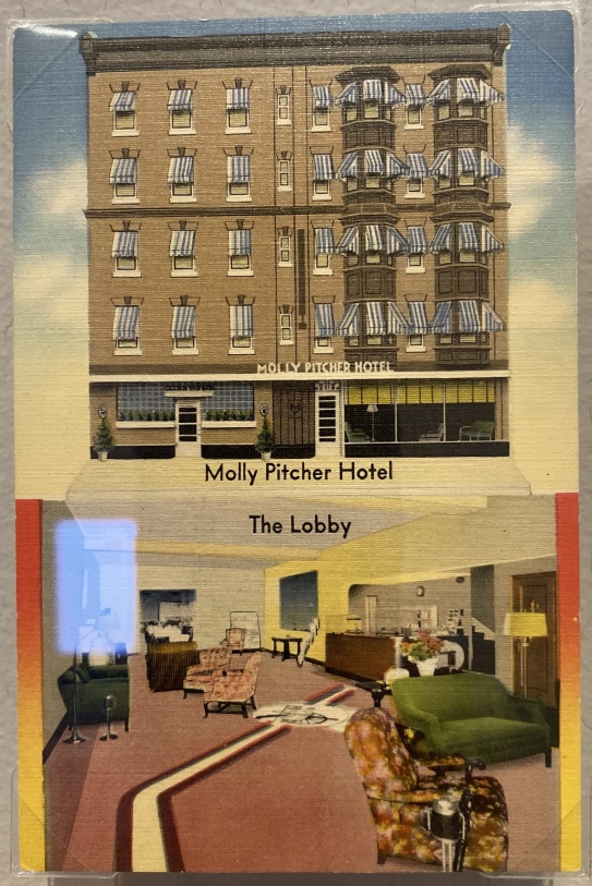 Molly PItcher Hotel, Carlisle, Pennsylvania