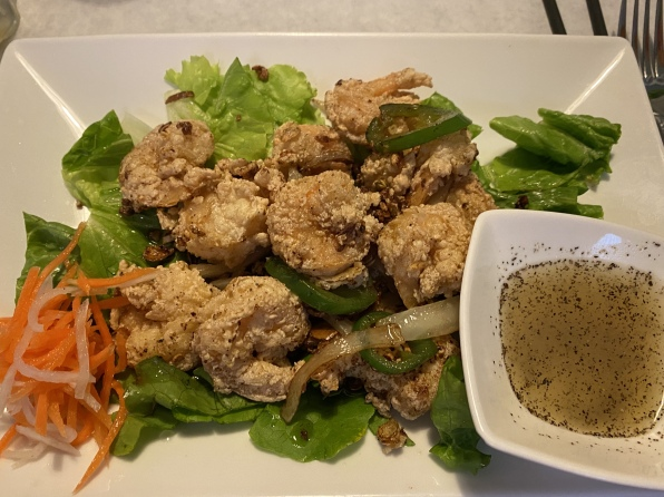 Crispy Shrimp at East Wind Vietnamese