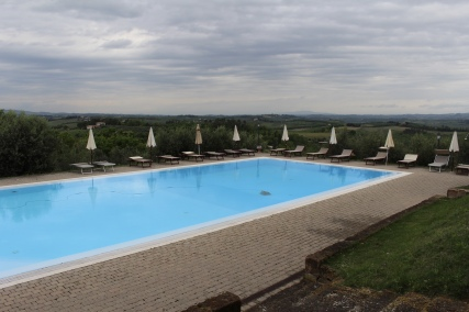 pool at the manor of Fulignano
