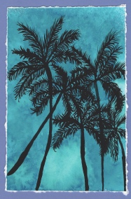 palm trees inspired by Mystique Artist -Geethu