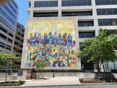 a mural in D.C.
