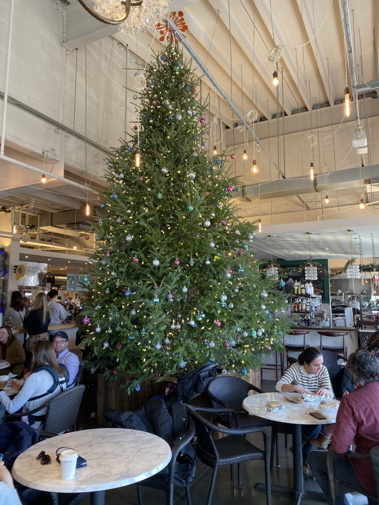 Christmas tree at Union Market