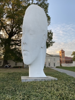 Chloe, 2016, by Jaume Plensa