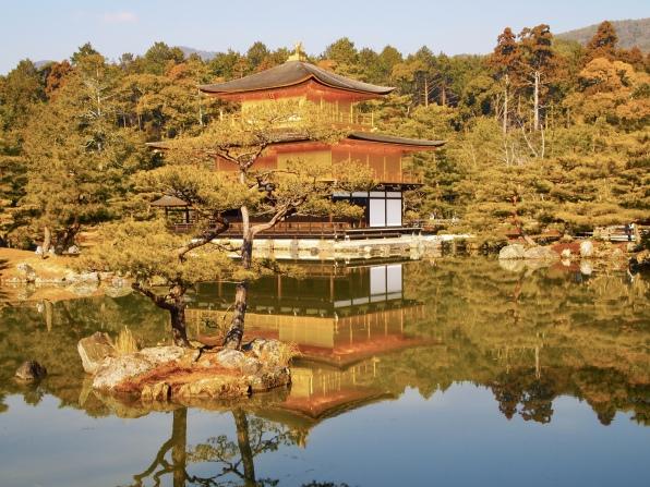 Kinkakuji Temple, Kyoto, 2011
