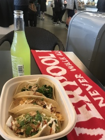 tacos at TaKorean