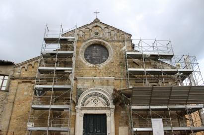 Duomo - under renovation