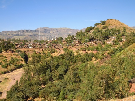 leaving the Lalibela churches