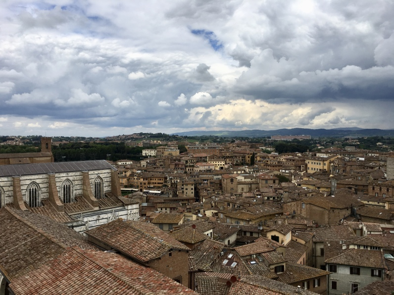 View of Siena from the Panorama del Facciatone