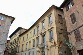 Siena's streets