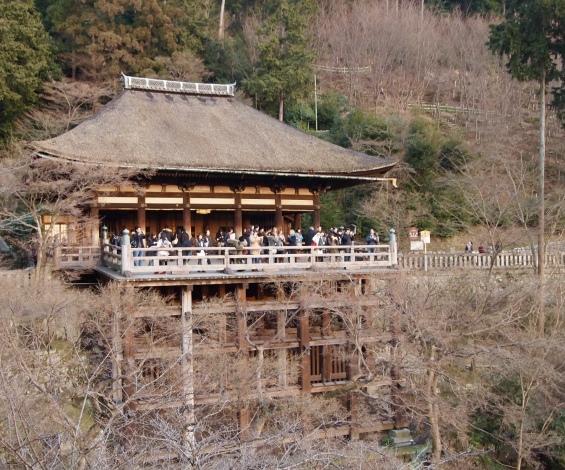 Kiiyomizu Temple, Kyoto, 2011