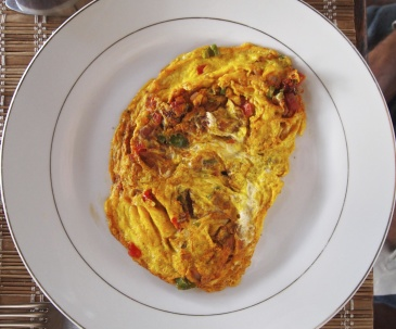 omelet for breakfast