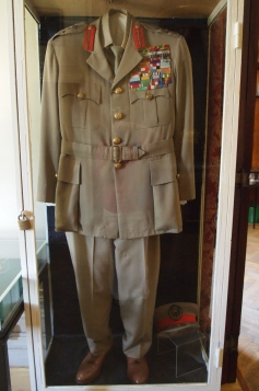 Haile Selassie's uniform