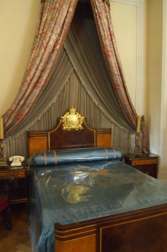 Haile Selassie's bedroom