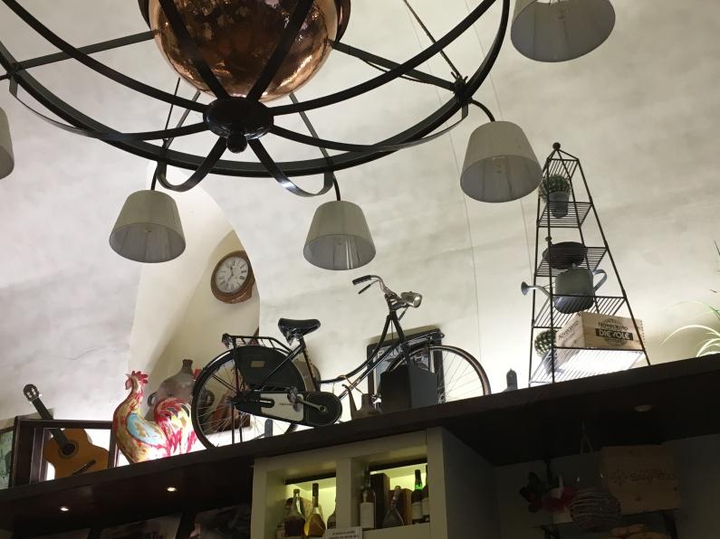 cafe in Volterra