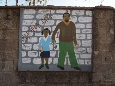 mural in Addis Ababa