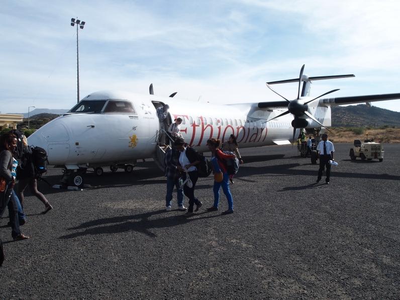 plane to Lalibela