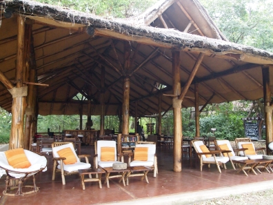 dining hall at Bishangari Eco-Lodge