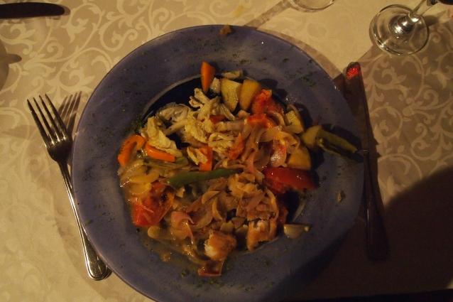 dinner at Loti