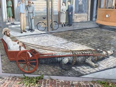Charleston mural detail