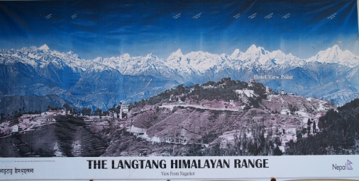 The Langtang Himalayan Range