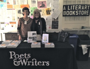 Rosie and me at Poets & Writers LIVE! in LA