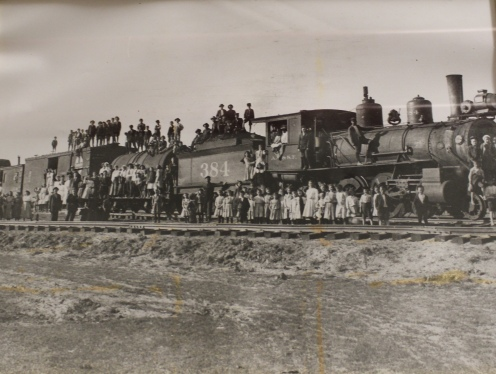photo of the orphan trains