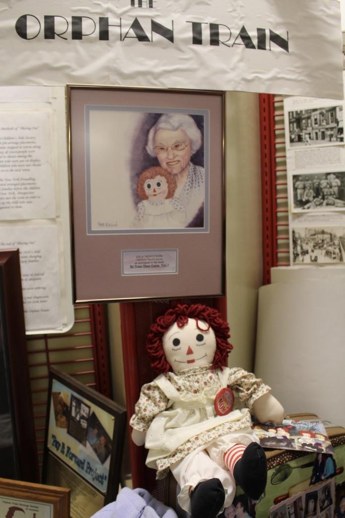 Raggedy Ann gift to orphan