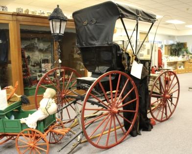 carriage at the Madison County Historical Society Museum