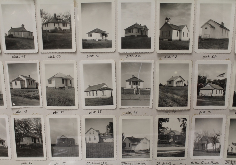 B&W photos of Madison County homes