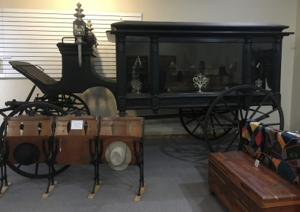Hearse, manufactured in 1890