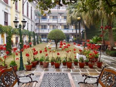 Courtyard of Kathmandu Guest House