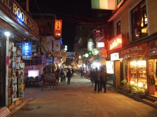 good night and farewell to Kathmandu