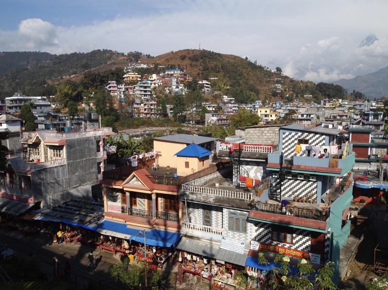 view from Bindyabasini Mandir