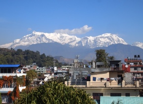 the Annapurna and Manaslu Ranges