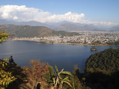 Pokhara and the Himalayas