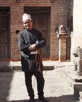 a Nepali TV celebrity
