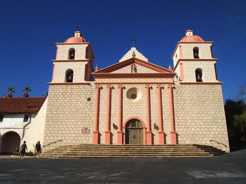 Mission in Santa Barbara 2014