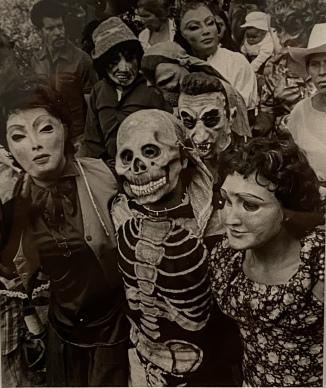 Peregrinación, (Procession), Chalma, 1984