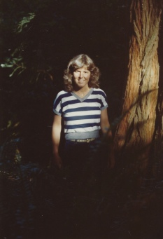 me at Redwood National Forest 1983