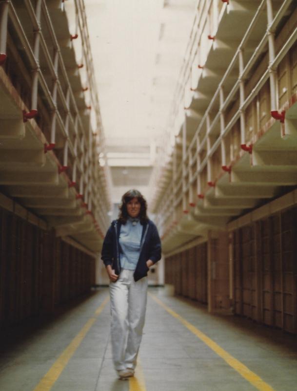 me at Alcatraz, 1983