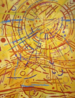 Magnetic Fields, 1990 by Mildred Thompson