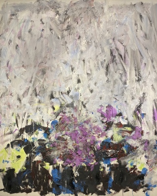 Sale Neige, 1980 by Joan Mitchell