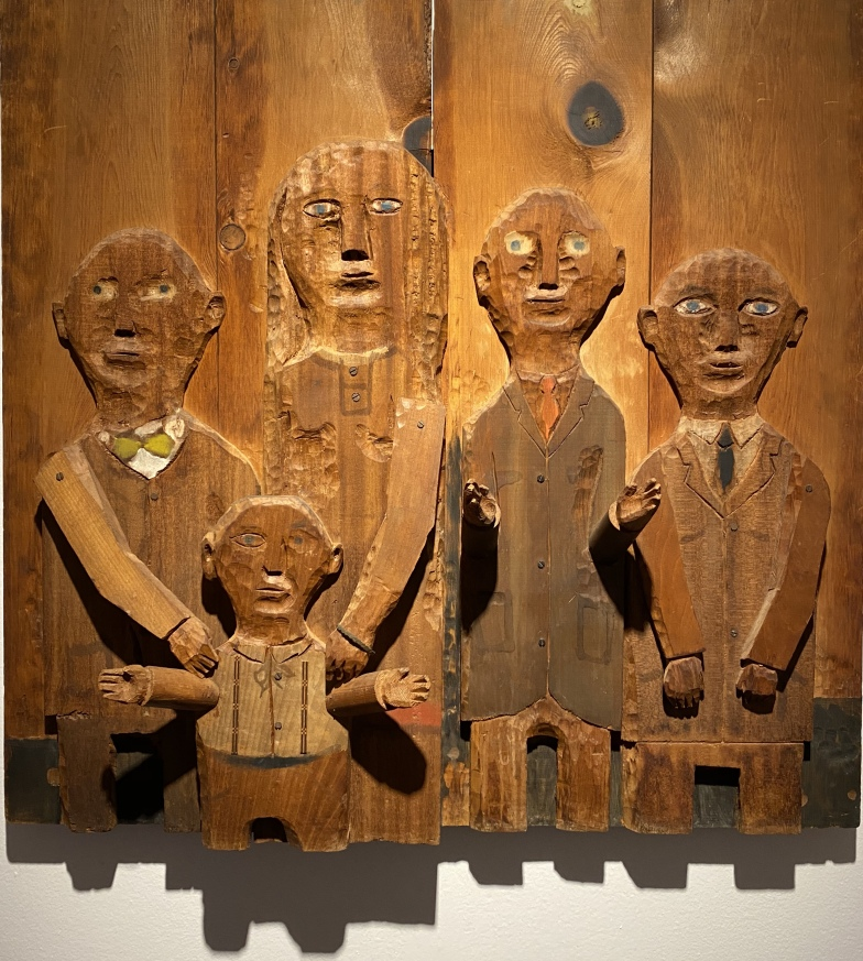 The Large Family Group, 1957 by MARISOL (Marisol Escobar)