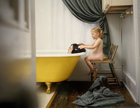 Untitled (Yellow Tub), 2003 by Angela Strassheim