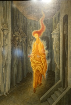 La Llamada (The Call) 1961 by Remedios Varo