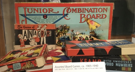 Junior Combination Board and The Game of Anagrams