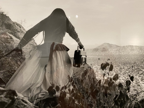 Mujer ángel (Angel woman), Sonoran Desert, 1979